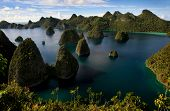 stock photo of raja  - Wayag Island in Raja Ampat - JPG