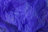 Lilac Plastic Texture From A Crumpled Piece Of Cellophane poster