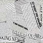 Fundo de papel de jornal