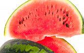 Sliced Ripe Fresh Watermelon