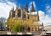 Cathedral Of Cologne In Germany