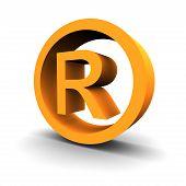 Trademark Symbol 3D