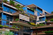 Apartment Or Condo With Hanging Gardens
