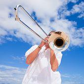 Silver Trombone