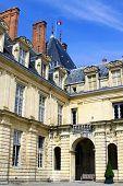 Chateau de Fontainebleau near Paris