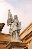 Statue von Leopold Ii. in Stift Melk, Niederösterreich