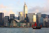 Traditional Chinese Junkboat, Hong Kong