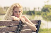 Beauty On Bench