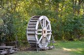 A wheel from an old grist mill