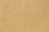 Yellow Sand. Texture.