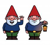 stock photo of gnome  - To garden gnomes - JPG