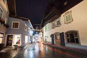 Nachtsicht aus Zell Am See-Dorf