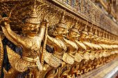 pic of garuda  - Garuda in Wat Phra Kaew Grand Palace of Thailand to find - JPG
