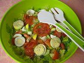 Green picnic salad