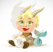Bebé Zodiaco - signo Capricornio