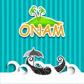 image of onam festival  - South Indian festival Onam wishes background - JPG