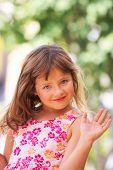 Child Girl Hand.