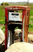Retired Gas Pump