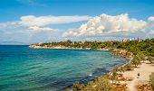 Beach In Aegina