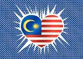 Malaysia flag themes idea design