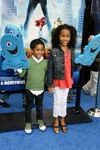 Sayeed Shahidi and Yara Shahidi at the Los Angeles Premiere of 'Monsters Vs. Aliens'. Gibson Amphitheatre, Universal City, CA. 03-22-09