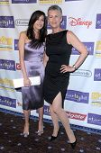 Teri Hatcher and Jamie Lee Curtis at the Starlight Children's Foundation's 'A Stellar Night' Gala. Beverly Hilton Hotel, Beverly Hills, CA. 03-27-09