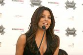 Eva Longoria Parker at a press conference by Rally for Kids With Cancer Scavenger Cup to Name Eva Lo