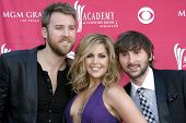 Lady Antebellum at the 44th Annual Academy of Country Music Awards. MGM Grand Garden Arena, Las Vegas, NV. 04-05-09