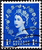 Queen Elizabeth By Dorothy Wilding On Blue