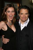 Silvia Suvadova and Damian Chapa  at the Charity Screening of 'Polanski Unauthorized' to Benefit the Children's Defense League. Laemmle Sunset 5 Cinemas, West Hollywood, CA. 02-10-09