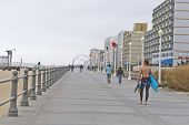 Virginia Beach Boardwalk In October