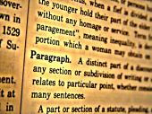 Dictionary Paragraph