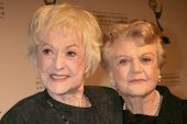 Bea Arthur and Angela Lansbury   at the Academy of Television Arts & Sciences Hall of Fame Ceremony.