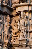 Apsaras And Surasundaris, Sculptors ,khajuraho,  India