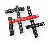 Innovation Crossword Concept