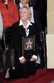 Glenn Close  at the Walk of Fame Ceremony Honoring Glenn Close. Hollywood Boulevard, Hollywood, CA. 01-12-09