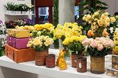 Flowers On Display At Homi, Home International Show In Milan, Italy