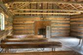 Interior Vintage Church