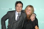 Jimmy Fallon and Nancy Juvonen at the World Premiere of 'He's Just Not That Into You'. Grauman's Chinese Theatre, Hollywood, CA. 02-02-09