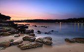 Sunrise At Rocky Point Island