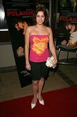 Amor Sanchez at the Charity Screening of 'Polanski Unauthorized' to Benefit the Children's Defense League. Laemmle Sunset 5 Cinemas, West Hollywood, CA. 02-10-09