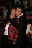 Sofia Milos and Damian Chapa at the Charity Screening of 'Polanski Unauthorized' to Benefit the Children's Defense League. Laemmle Sunset 5 Cinemas, West Hollywood, CA. 02-10-09