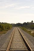 pic of train track  - Train rails - JPG