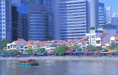Boat Quay water front restaurants Singapore
