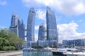 Marina at Keppel Bay  Singapore