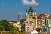 View Of St Andrew's Church - Kyiv, Ukraine