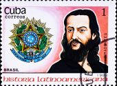 Postage Stamp Shows Jose Da Silva Xavier