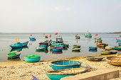 Boat on beach, Ly son island, Quang Ngai province, Vietnam