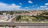 Aerial View Of Jeronimos Monastery In Lisbon, Portugal