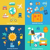 Flat travel concepts